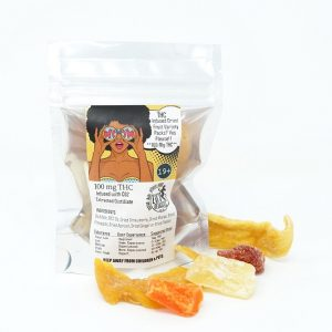 Eva's THC or CBD Dried Fruit
